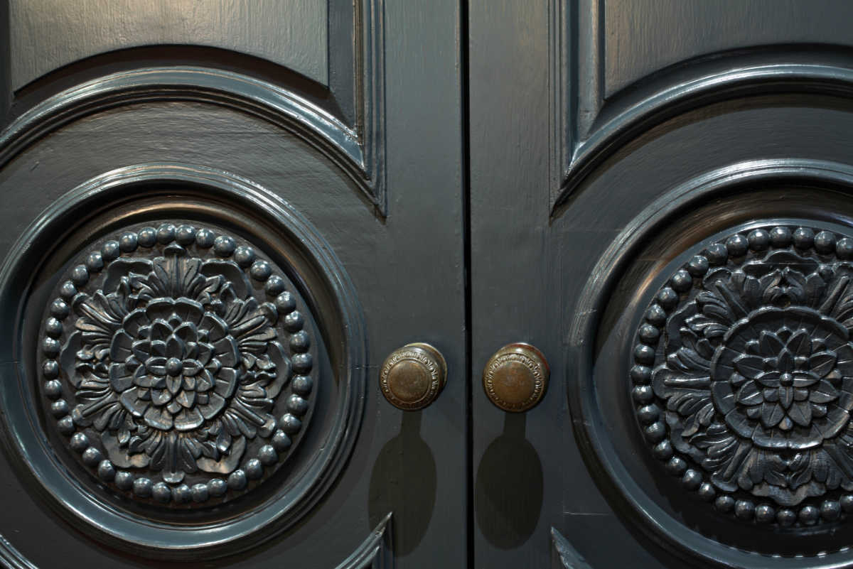 Door Detail Farmhouse Design NJ