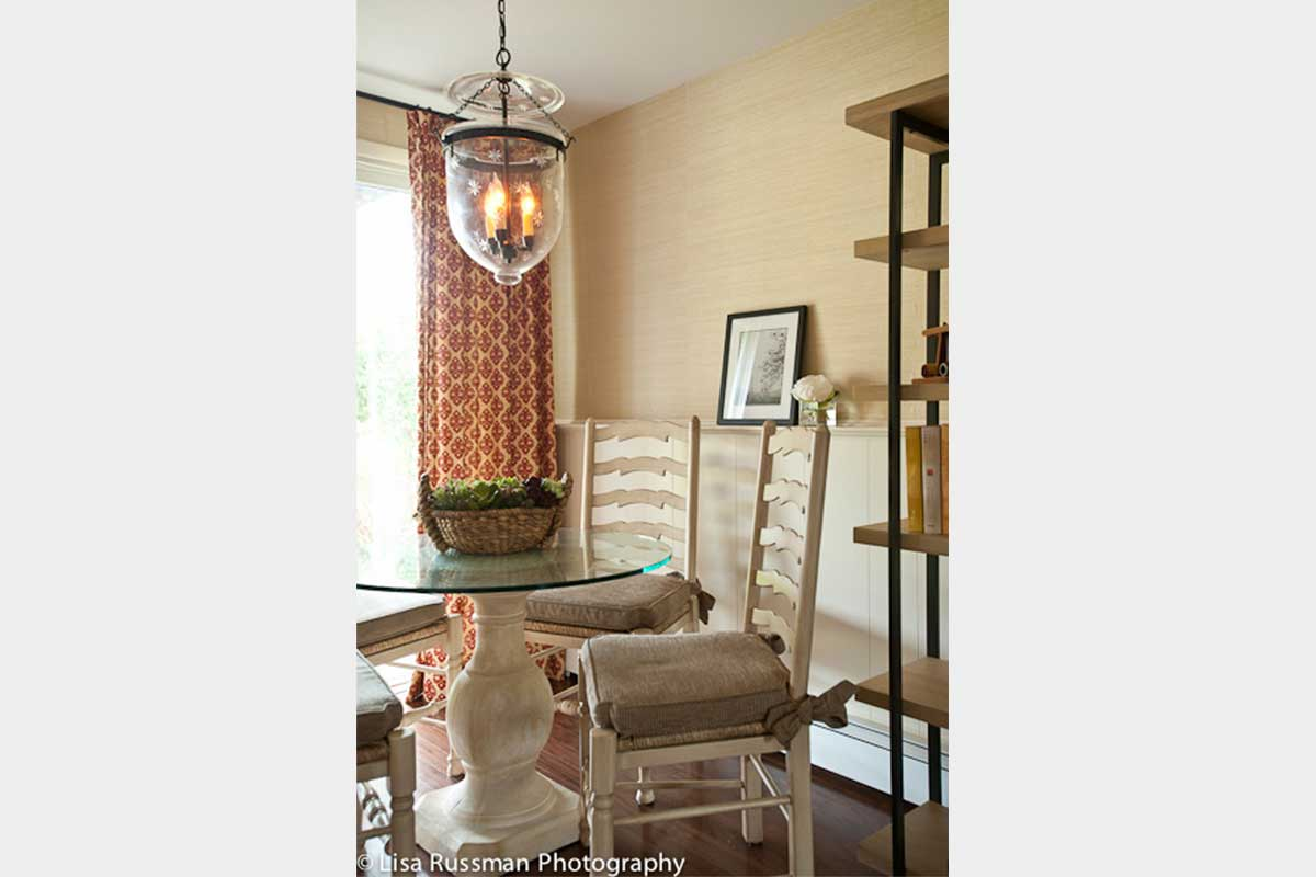 Transitional Family Room Design NJ