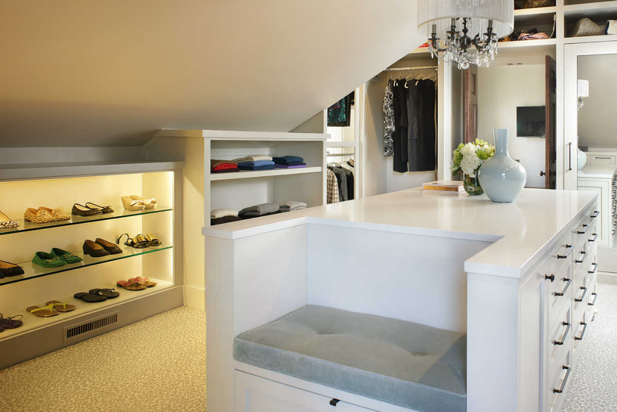 Walk-in Closet Design by House of Funk