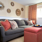 Casual Transitional Family Room