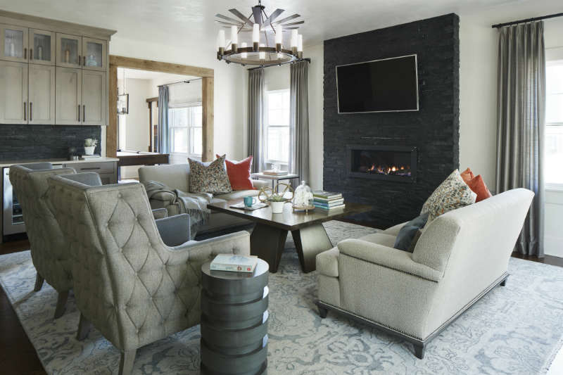 Family Room Design by House of Funk