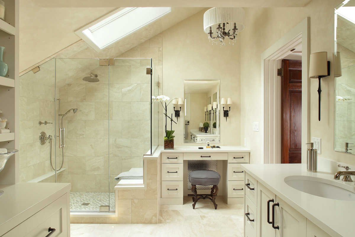 Modern Barn Bathroom Design
