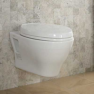 Wall-Mounted Toilet