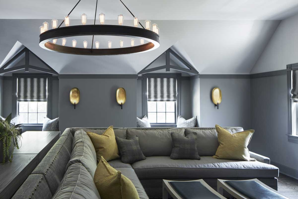 Contemporary Lounge and Playroom Design - House of Funk NYC