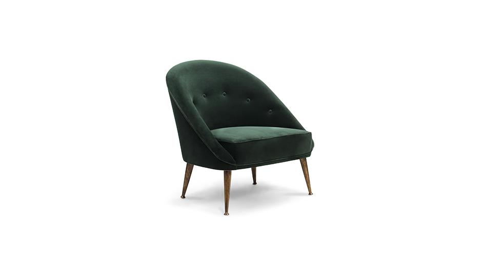 velvet armchair brabbu