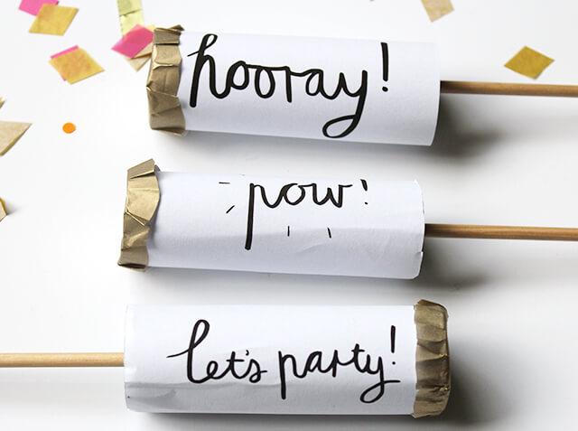 DIY party favor