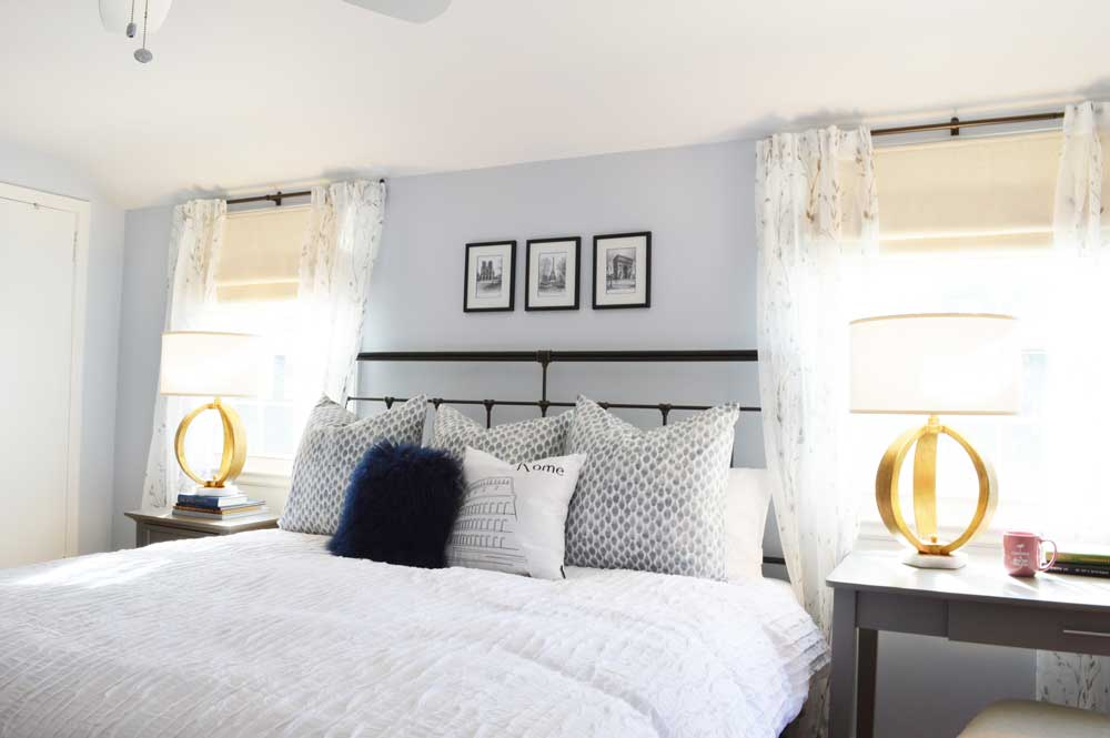 Online Interior Design - Bedding, Curtains and Lamps