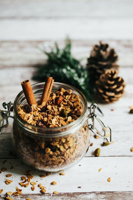 A Healthy Winter Granola Recipe To Kickstart Your Day