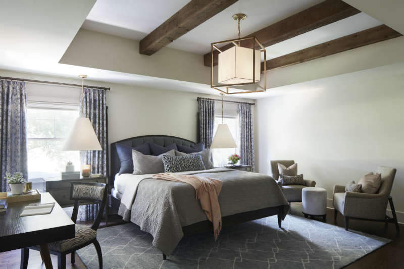 Bedroom Design with Rustic Touches