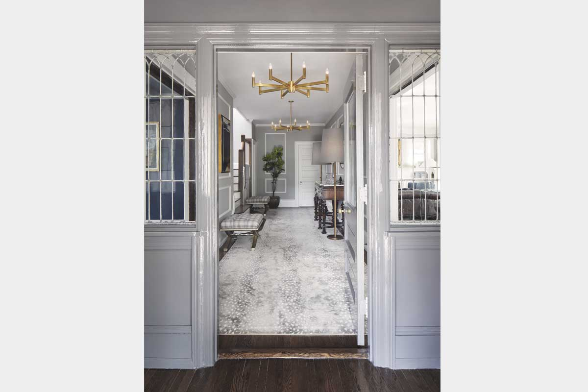 Glossy-Grey-Foyer-by-House-of-Funk