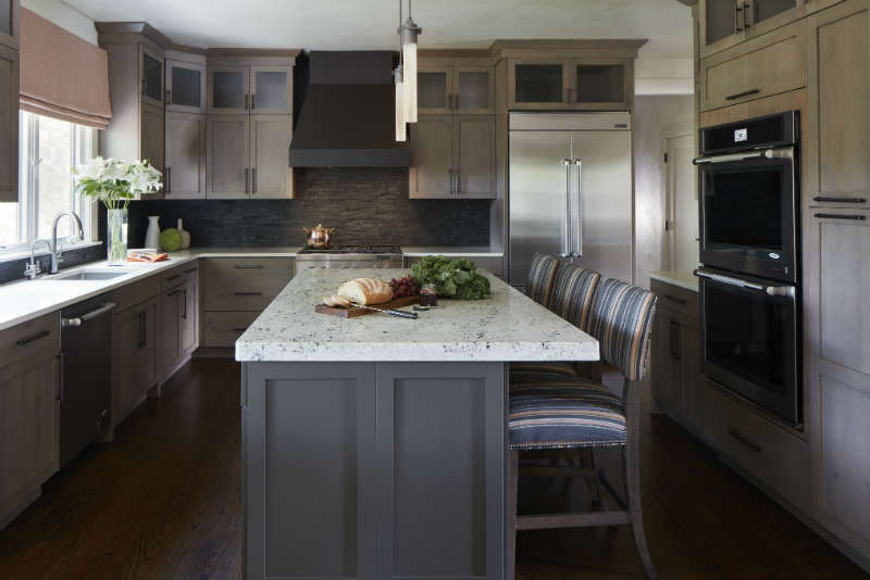 Grey Kitchen Interior Design NJ
