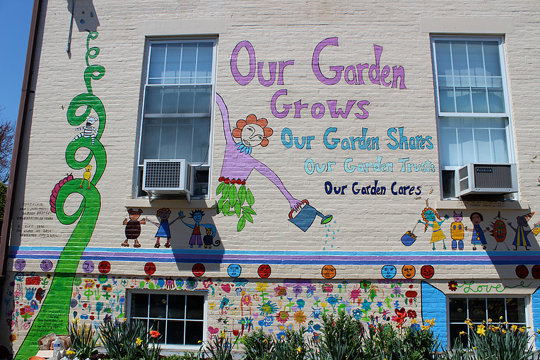 Peace Garden Song Mural Project