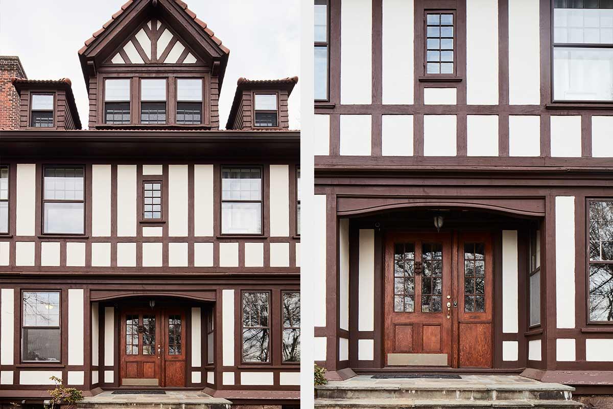Tudor-Home-Exterior-Front-Porch