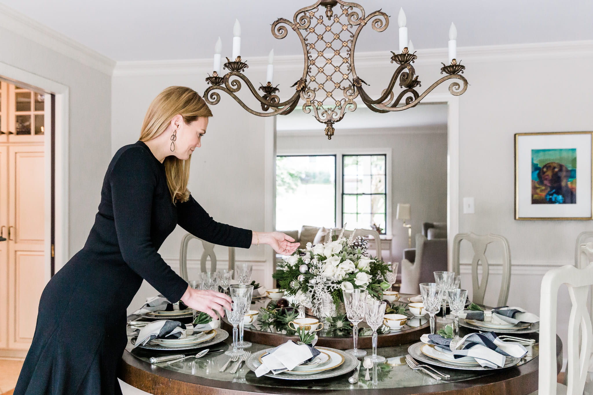 Holiday Decorating Table Setting Ideas