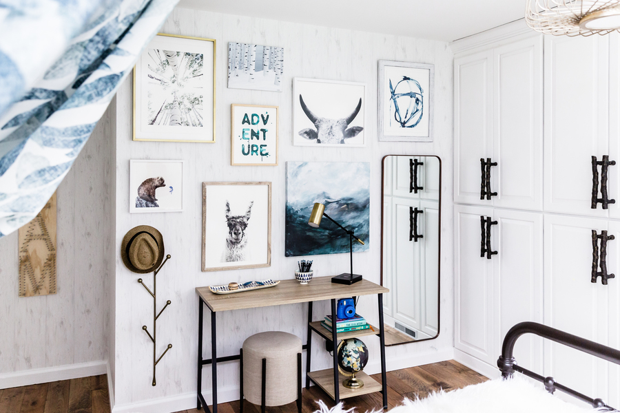 Gallery Wall - Kids Room Design Hygge Style