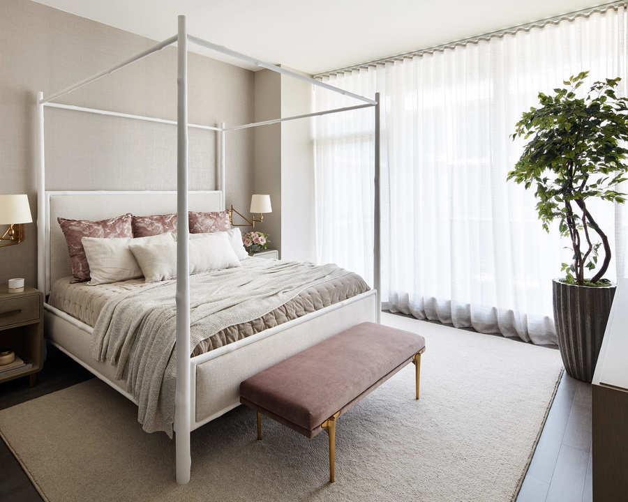 condo bedroom design romantic