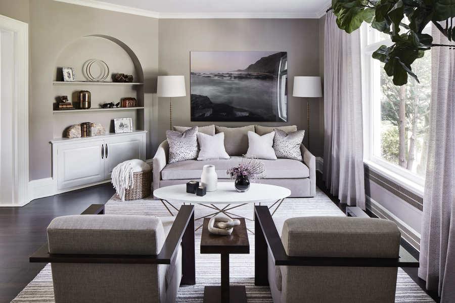 living room design contemporary