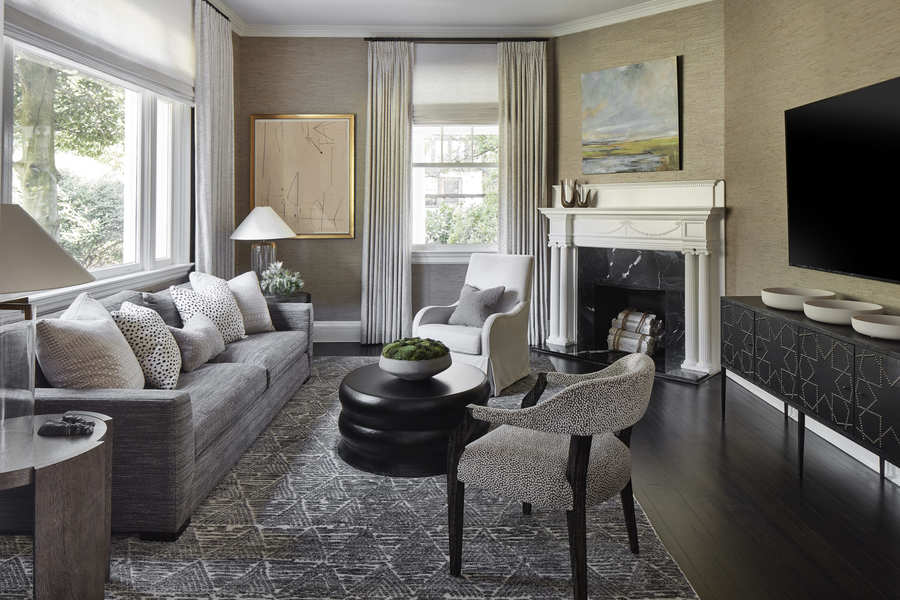 living room design earthy