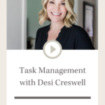 Design Sips: Task Management with Desi Creswell