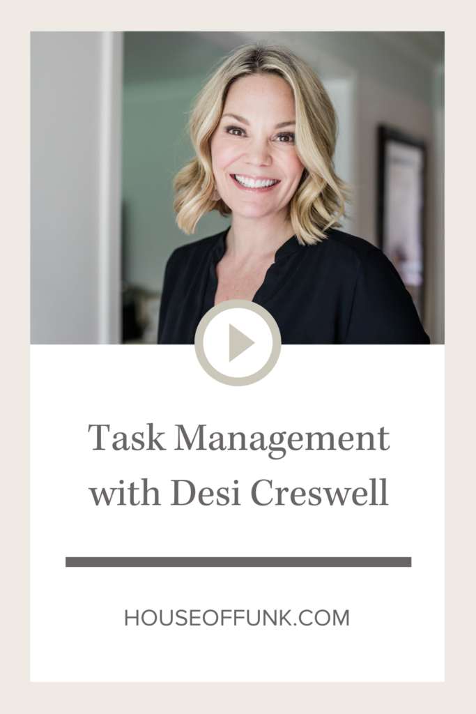 task management with desi creswell